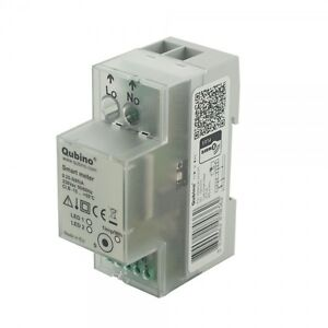 Qubino Z Wave Plus Din Rail Smart Meter Zmnhtd1