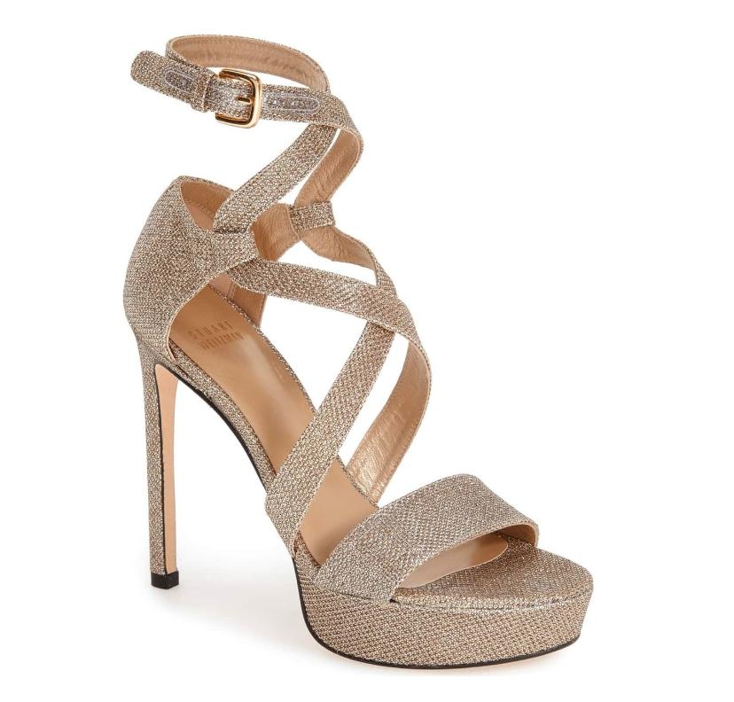 fornire un prodotto di qualità Stuart Wetizman donna Streamer Platinum nero Platform Sandal Sz 10.5 10.5 10.5 3937  alla moda