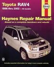 Toyota RAV4 Automotive Repair Manual: 1996-12 by Editors of Haynes Manuals (Paperback, 2013)
