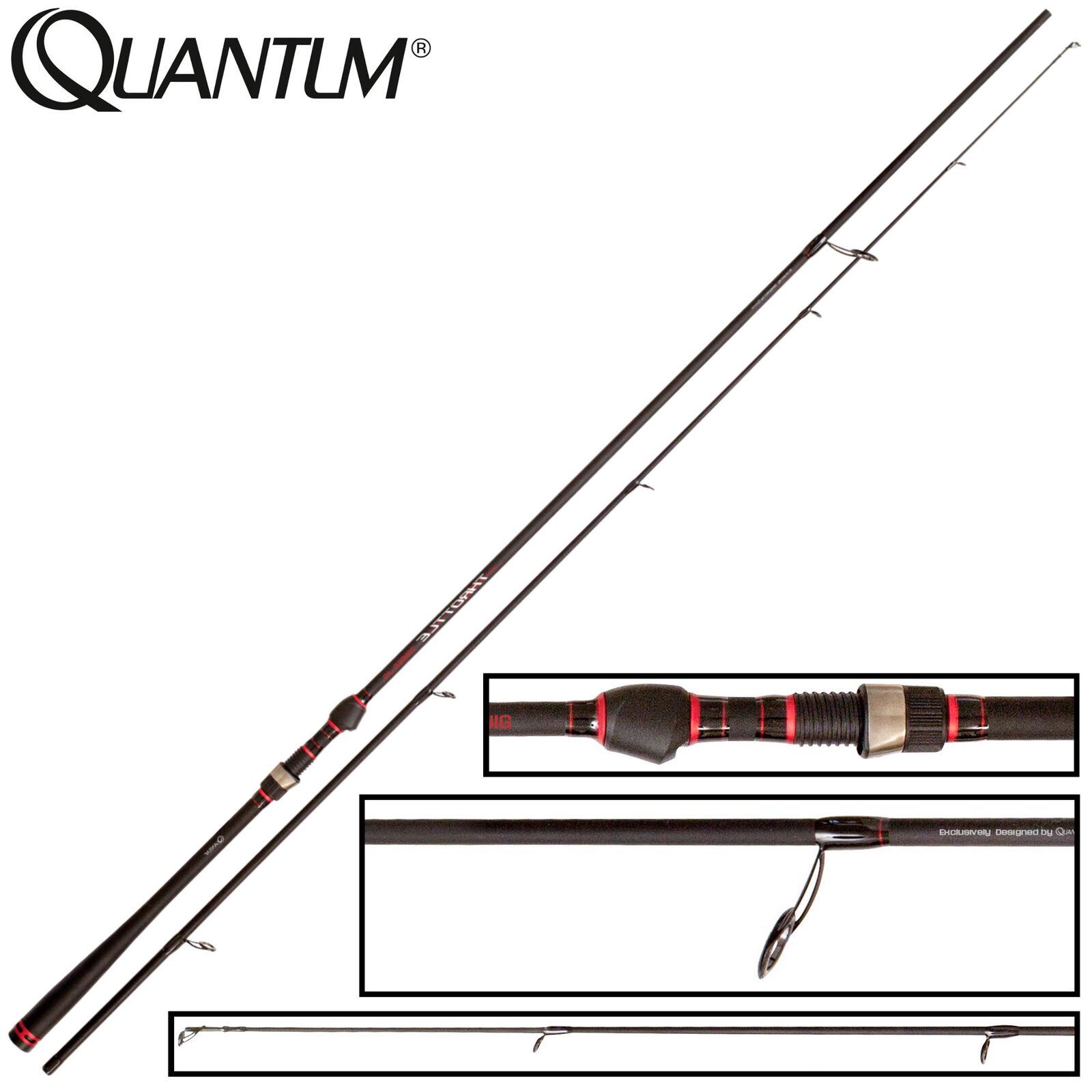 Quantum Throttle Zander Jig 2 65m 10-60g - Spinnrute Zanderrute Angelrute
