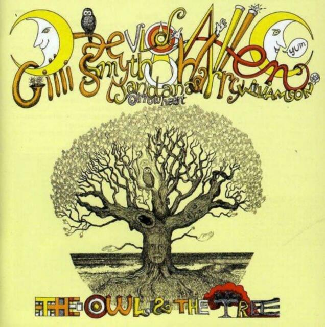 MOTHER GONG & DAEVID ALLEN ‎– THE OWL AND THE TREE (NEW/SEALED) CD