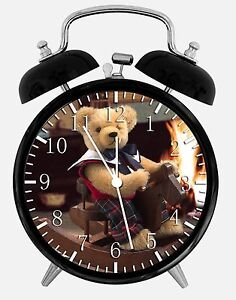 Ours-en-Peluche-Alarme-Horloge-de-Bureau-9-5cm-Maison-ou-Decoration-E141-Nice