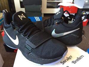 8fd24ece286 Nike PG 1 TS Prototype Pre-Heat Shining Black PG1 Paul George 911082 ...