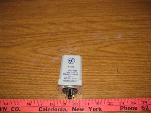 Relay D.P.D.T Hoagland Instrument  H-820