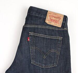 Levi's Strauss & Co Herren 514 Slim Gerades Bein Jeans Größe W32 L30 AVZ200