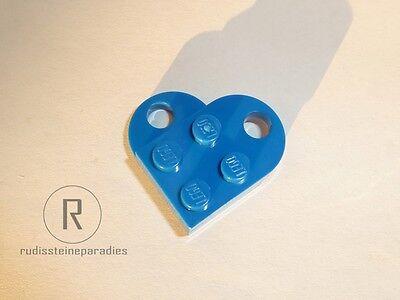 Lego Herz NEU // NEW grau 2-teilig heart