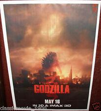 "GODZILLA  (2014) ORIGINAL POSTER 27""X 37"" INDIA"