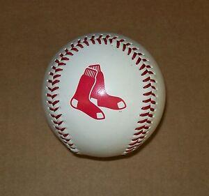 Rawlings-Baseball-with-Boston-Red-Sox-Logo-Two-Socks-MLB-holo-Free-Shipping