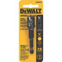 Dewalt Impact Ready Socket Adapter - 1/4 Hex To 1/2 Socket Tools Drivers