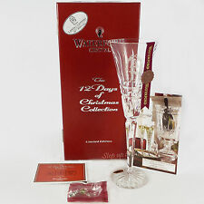 Waterford Crystal 12 Days of Xmas 10 LORDS A LEAPING FLUTE 10th Glenmore Tenth