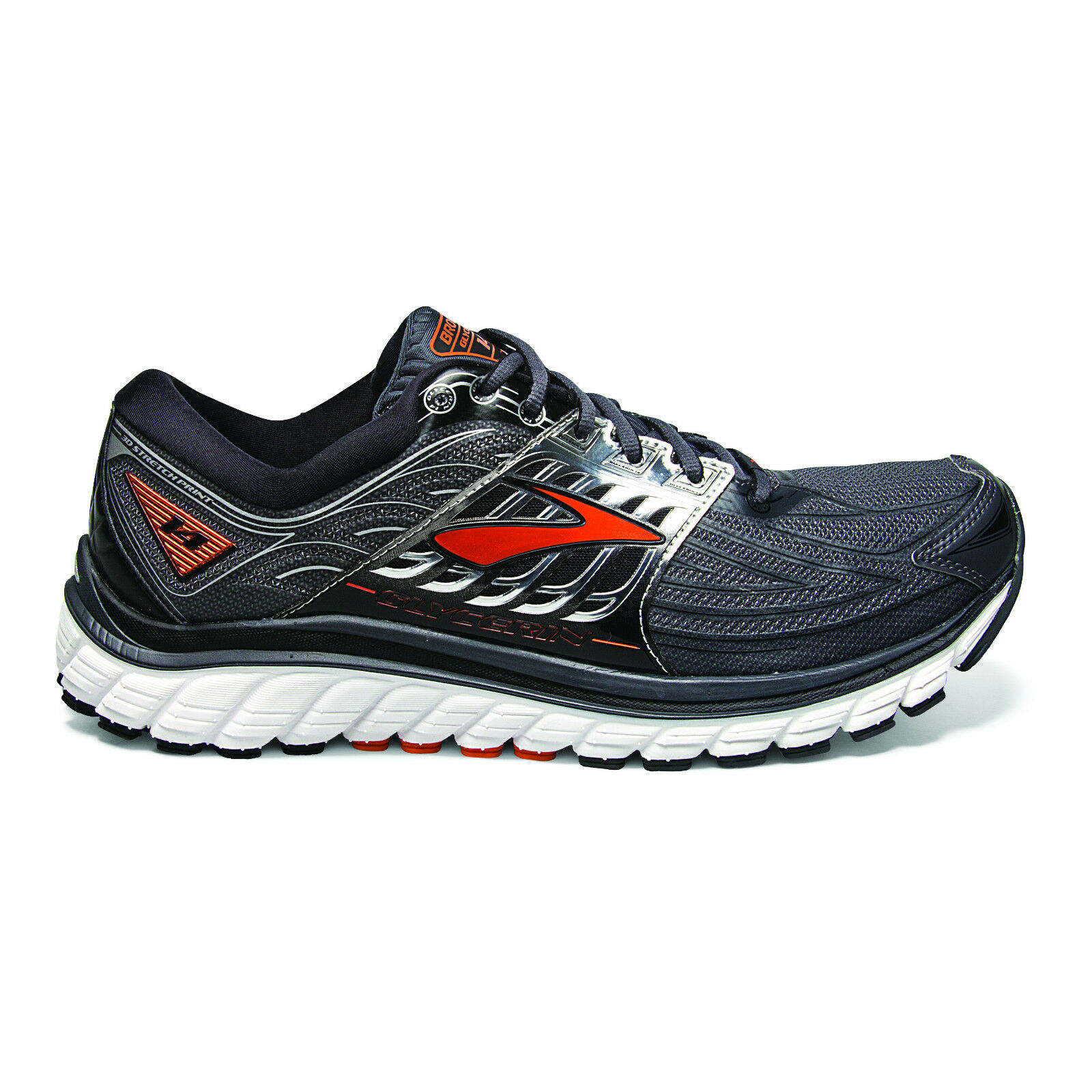 Brooks Glycerin 14 Mens Cushioned Running Shoe (D) (075) | Buy Now!