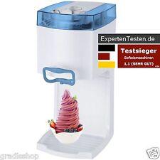 Softeismaschine Syntrox GG-50W-A, Eismaschine, Frozen Joghurt, 4 in 1, Blau