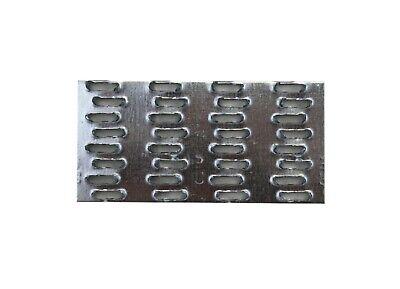 "Truss Mending Plate 8/"" x 8/"" Galvanized 22 gauze steel"
