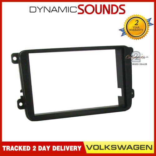 CT24VW06 Car Stereo Double Din Fascia Panel for VW Transporter T5.1 2010-2015