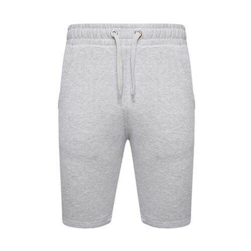New Mens Gym Sports Elasticated Waist Bottom Fleece Joggers Running Short Pants