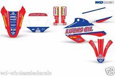 Decal Graphics for Honda XR80-XR100 Dirtbike MX Wrap Motocross Deco 2001-2003 LO