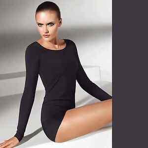 Wolford Ravenune merveilleusement Luxe sensation peau PulloverXs sur la douce hxQdtCsr