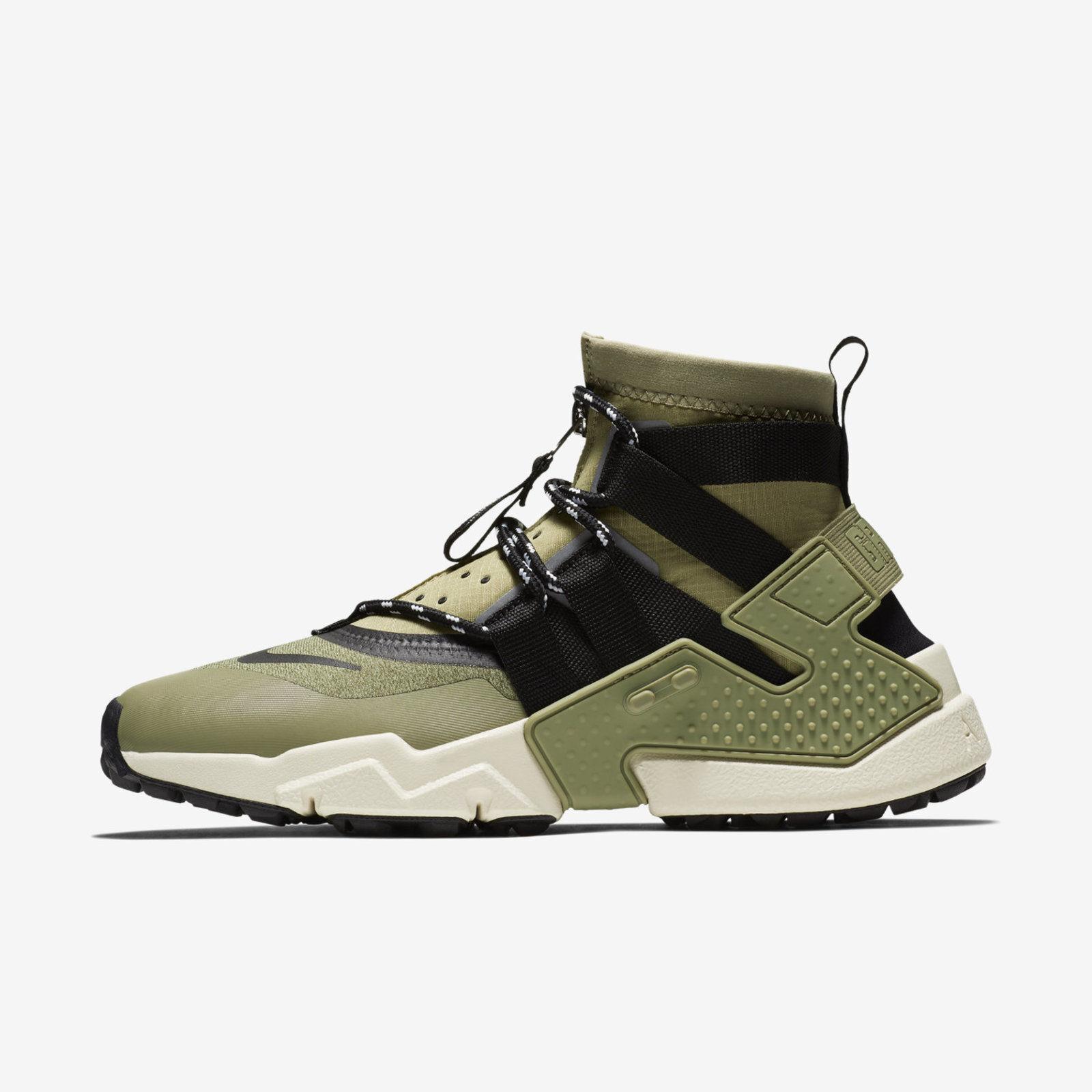 MEN'S Nike Air Huarache Gripp [AO1730-200]  shoes Sz 14  Neutral Olive Black