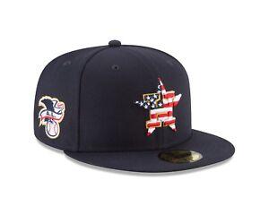 dafcfd03b1ad8 Houston Astros New Era 2018 Stars   Stripes 4th of July 59Fifty Hat ...