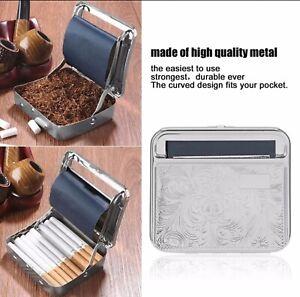 Metal Tobacco Cigarette Storage Case/Tin and Paper Roller