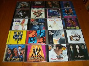 HUGE-MOVIE-SOUNDTRACK-CD-COLLECTION-x-20-albums