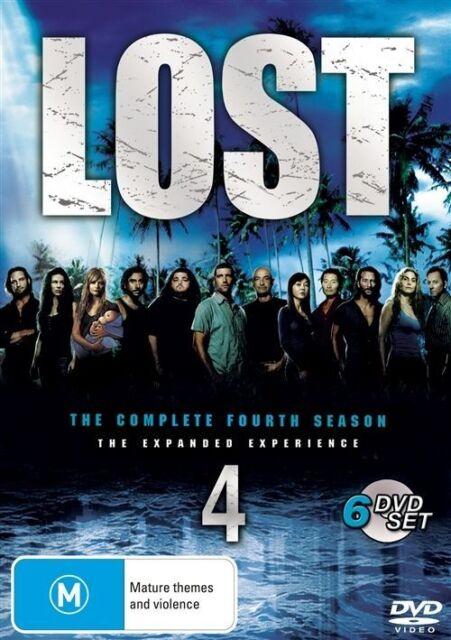 NEW Lost : Season 4 (DVD, 2008, 6-Disc Set)