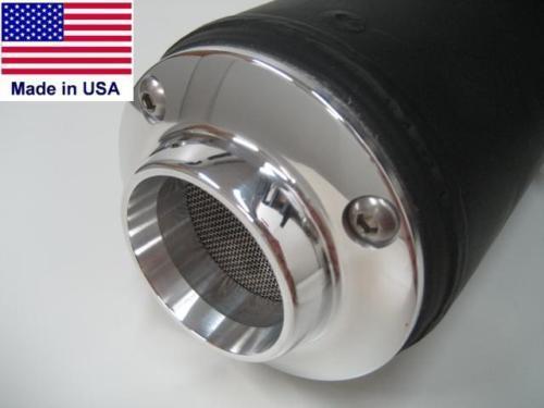 2D MUFFLER EXHAUST POWER TIP w// SPARK ARRESTOR SCREEN HONDA RINCON FOURTRAX