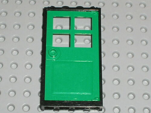 Porte LEGO Green door 60623 Set 10224 76005 7597 10218 60112 60046 60048 31038