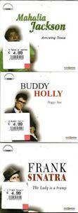 3-CD-039-s-Buddy-Holly-Mahalia-Jackson-Frank-Sinatra-NEU-OVP