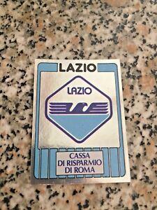 CALCIATORI FIGURINE PANINI 1986 87 LAZIO SCUDETTO 411 VELINA ORIGINALE