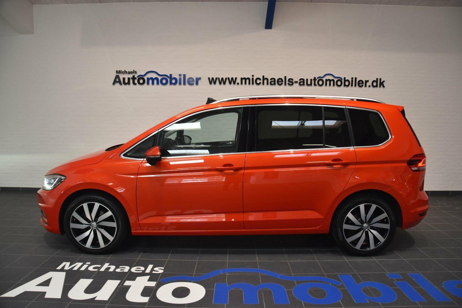 VW Touran 2,0 TDi 190 Highline DSG BMT 5d