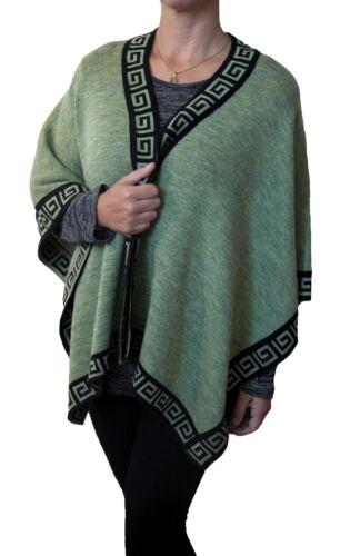 TINKUY PERU 100/% Peruvian Alpaca Wool Cape Ruana Camel Poncho Wrap Scarf Beanie