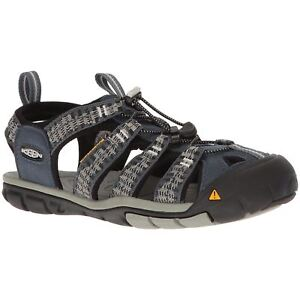 3b7bb178fc6a Keen Clearwater CNX Midnight Navy Vapor Mens Slip-On Hiking Outdoor ...