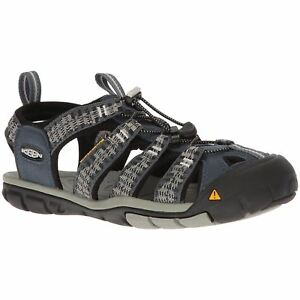8fe7ca2a0846 Keen Clearwater CNX Midnight Navy Vapor Mens Slip-On Hiking Outdoor ...