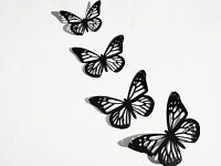 Butterfly Paper Die Cuts, Set Of 12, Big Sizes Available