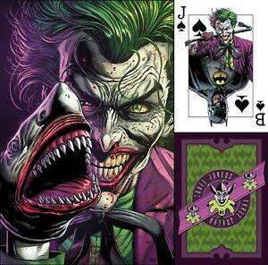 BATMAN-THREE-JOKERS-1-3-Jokers-NEW-Premium-JAWS-SHARK-variant-w-card-FABOK