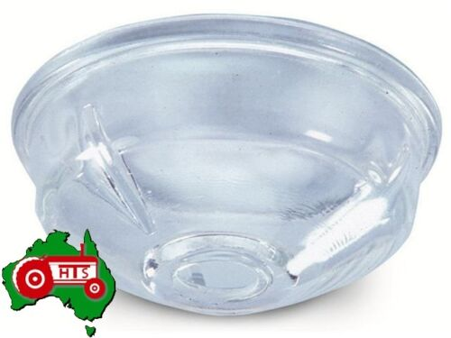 Curved Sides Glass Delphi Fuel Filter Bowl Shallow John Deere Tractor