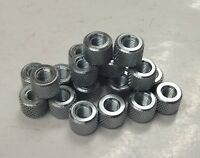 By Bosch 50534 1/4 - 28 Knurled Steel Nuts 20pcs.