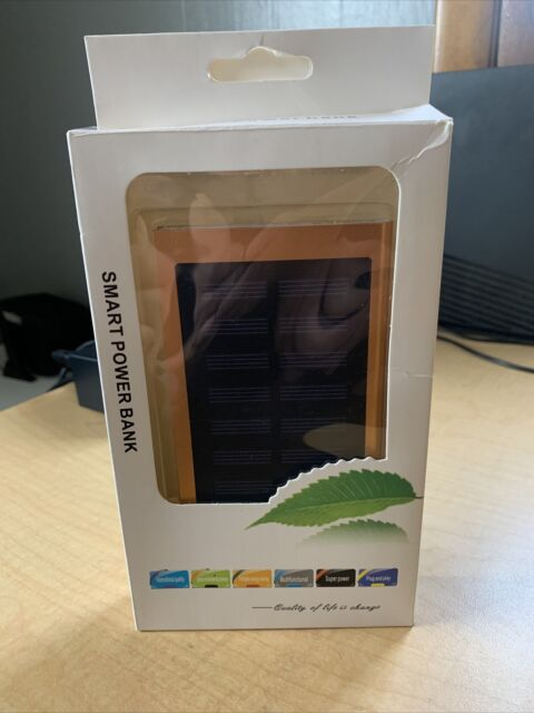 Solar smart phone Chargers 8000 mAh Portable Solar Power Bank
