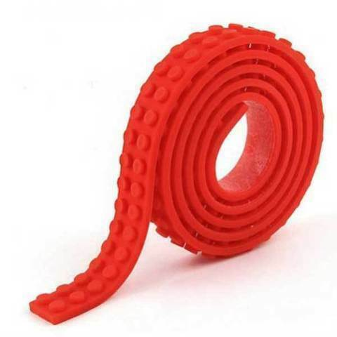 1 Metre Compatible with LEGO Building Tape Strip Brick Block Toy Corners Base