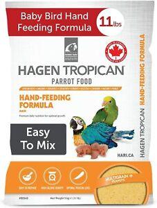 HAGEN TROPICAN HAND REARING FORMULA MASH HAND FEEDING BABY BIRDS PARROTS 5KG BAG