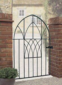 ANAVIO-Modern-Garden-Gates-914mm-to-991mm-3-039-3-039-3-034-GAP-Wrought-Iron-Metal