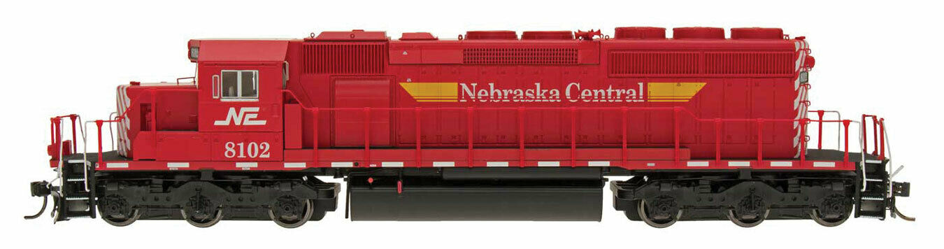 Spu N - Intermountain Diesel Locomotive EMD Sd40-2 Nebraska Central ne - 69369d