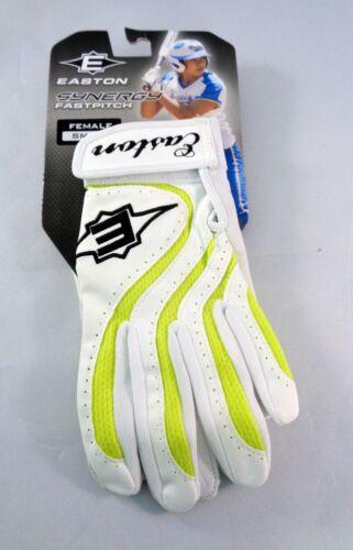 Easton Synergy WOMEN/'S Fastpitch Softball Batting Gloves NEW! Pair