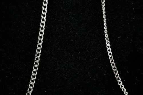 """51cm Mens 316 Surgical Steel Dog Chain Necklace 20/"""" Length"""