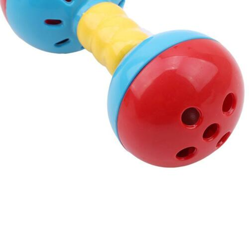 Baby Rattles Toy Intelligence Grasping Gums Hand Bell Rattle Educational Toy C