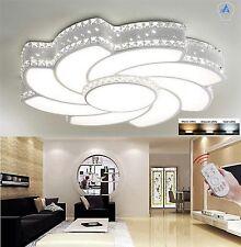 36w LED Luz de Techo con K9 Cristal 3 Colores Regulable Con Control Remoto