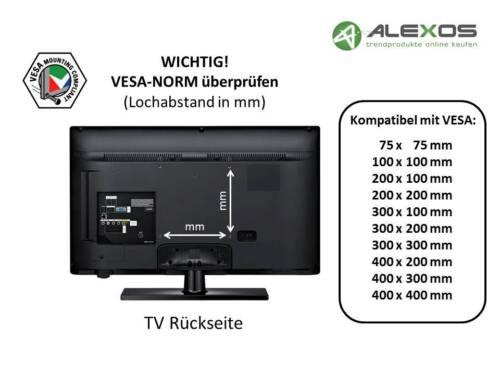 TV Fernseher Wandhalterung A66 für PHILIPS 43 Zoll 43PUS6703//12 und 43PUS6703