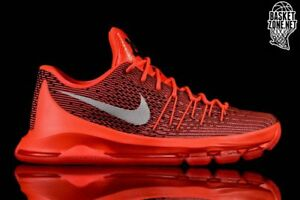 uk availability b6147 242cc Image is loading Nike-KD-8-Bright-Crimson-Red-Size-12-