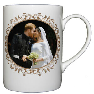 HRH-Prince-Harry-amp-Ms-Meghan-Markle-Wedding-Day-Kiss-Fine-Bone-China-Cup